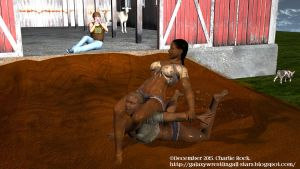 Monday Mud Wrestling 3: How Farm Girls Do It by Charlierock2