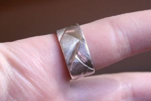 Square braid ring 2 by lovelylouise