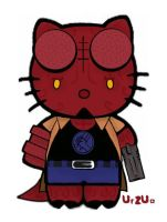 HellBoy Kitty by rancid1881