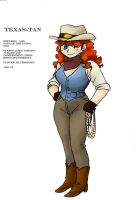 Texas-Tan:  Hannah Cook by fatal-rob0t