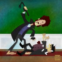 Wet Bandits v.s The Spider by DanielMead