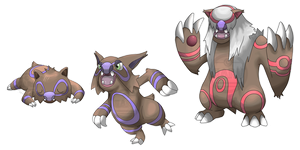 The Wombat Fakemon by Neliorra