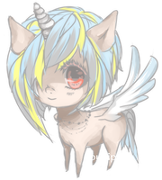 Pegasus Pony Adopt (open) by bunipon