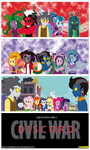 Equestria Girls - Discord - Civil War by CoNiKiBlaSu-fan