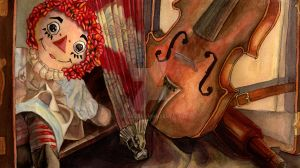 Doll and Violin by RSmiles