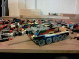 t80-6 wildcat tank destroyer by ace00004