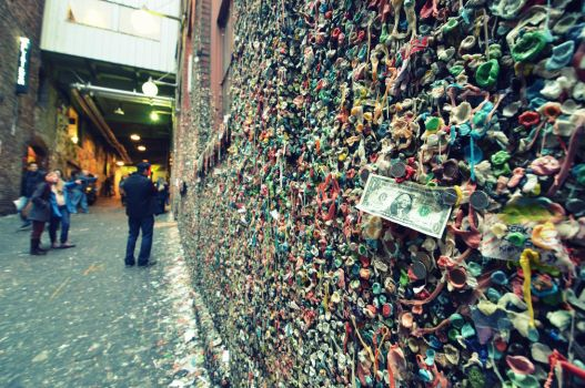 Gum Wall I by esee