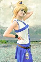 Lucy Hearphilia Fairy Tail - vanita' cosplay by xRika89x