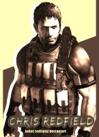 chris redfield ID resident evil 6 by AsketRedfield