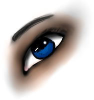 Realism practice with eye yay by WolfTiger98