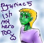 Brainiac Five is a HERO by Golden-Dragon-Girl