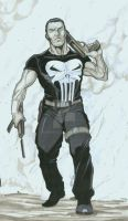 The Punisher by martheus