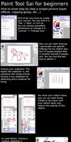 Sai for beginners (layer effects, clipping groups) by Kaylinh