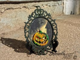 Victorian Halloween Ornament by sioranth