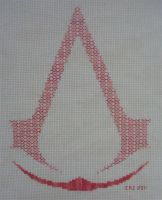 +BLACKWORK+ Assassin's Creed by gatchacaz