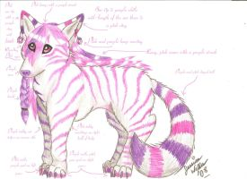 . : : The Tabby Wolf : : . by Spunkypinkferret