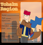Tohaku Region: One-winged Redhead by InfernoNick