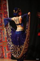 Persian / Tribal Fusion belly dancer 3 by Apsara-Stock