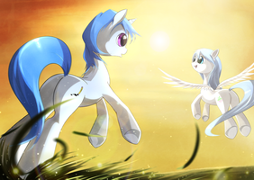 Pencil Point and Melody by ZymonasYH