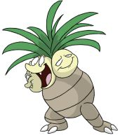 103 - Exeggutor by Winter-Freak