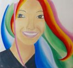 My head is full of colors by Lorelei-Cha