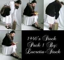 1940's stock pack 1 by lucretia-stock