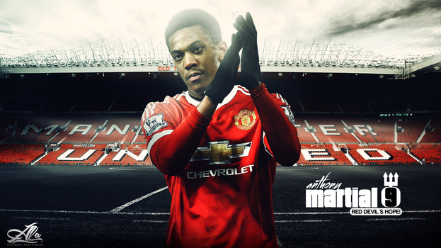 Wallpaper Anthony Martial 15-2016 by designer-alateewish