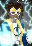 Static Shock by KiraTheArtist