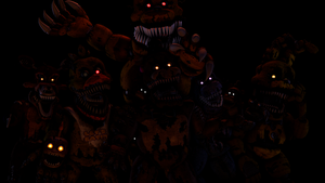 [FNaF 4-SFM] The Nightmare's by TheFNAFLoverYT
