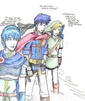 Ike the Noob Swordsmen Unite by keoko-dono