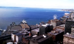 Seattle Waterfront Tilt-Shift by TheBelfig