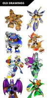 Old Drawings by ultimatemaverickx