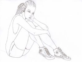 Converse Chick by ViralObsession