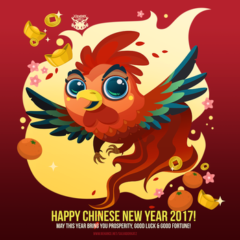 Day 231 - The year of fire rooster by salvadorkatz