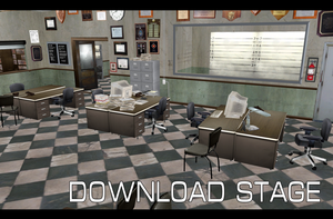 Police Station  New York City [MMD][DL] by Deiroko