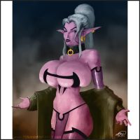 Drow by Tomahawk-Monkey