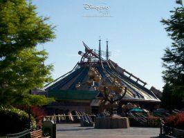Space Mountain by enhancedproductions
