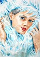 ATC Arctic Snow Queen by waughtercolors