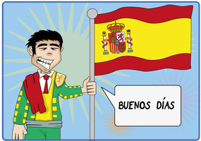 ESL Flash Card - Spain/Spanish/Spanish by MattBowring