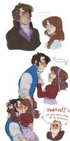 PENNS WOODS DOODLES by AgentDax