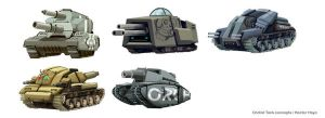 Orchid Tanks concepts by hision