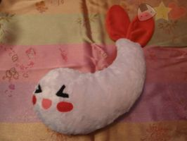 Shrimp Plushie by LiLMoon