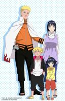 Uzumaki Family by ToshaLG
