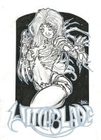 Witchblade commission 34 by Xenomrph