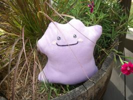 Chibi Ditto Plush by Jacqueline-Victoria