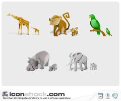 Animals Vista Style MAC by Iconshock