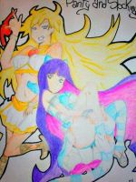 Panty and Stocking by Jirappa21