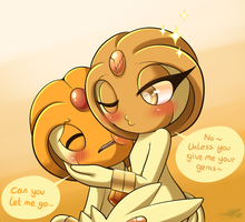 They Can't Get Along... by Sol-Lar-Bink
