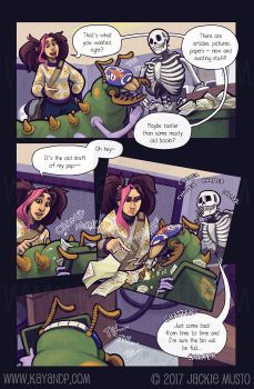 Kay and P: Issue 21, Page 12 by Jackie-M-Illustrator
