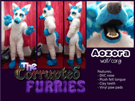 Aozora Fullsuit Commission by TheCorruptedFurries